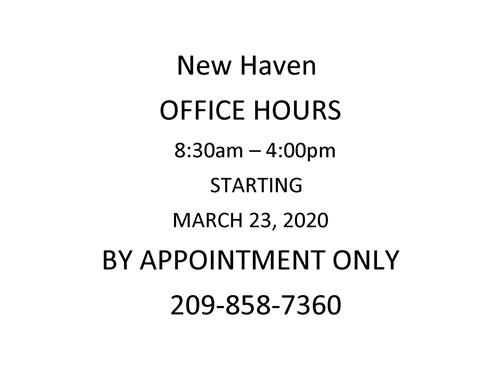 New Haven Office Hours