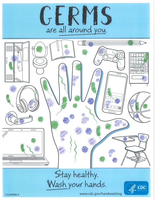 Germs Are All Around You!