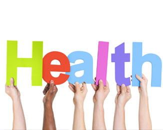 photo of the word health