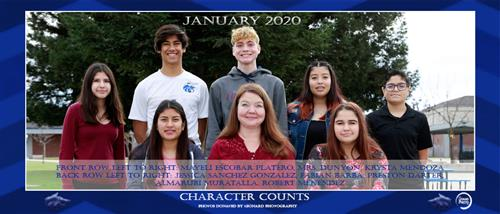January Character Counts