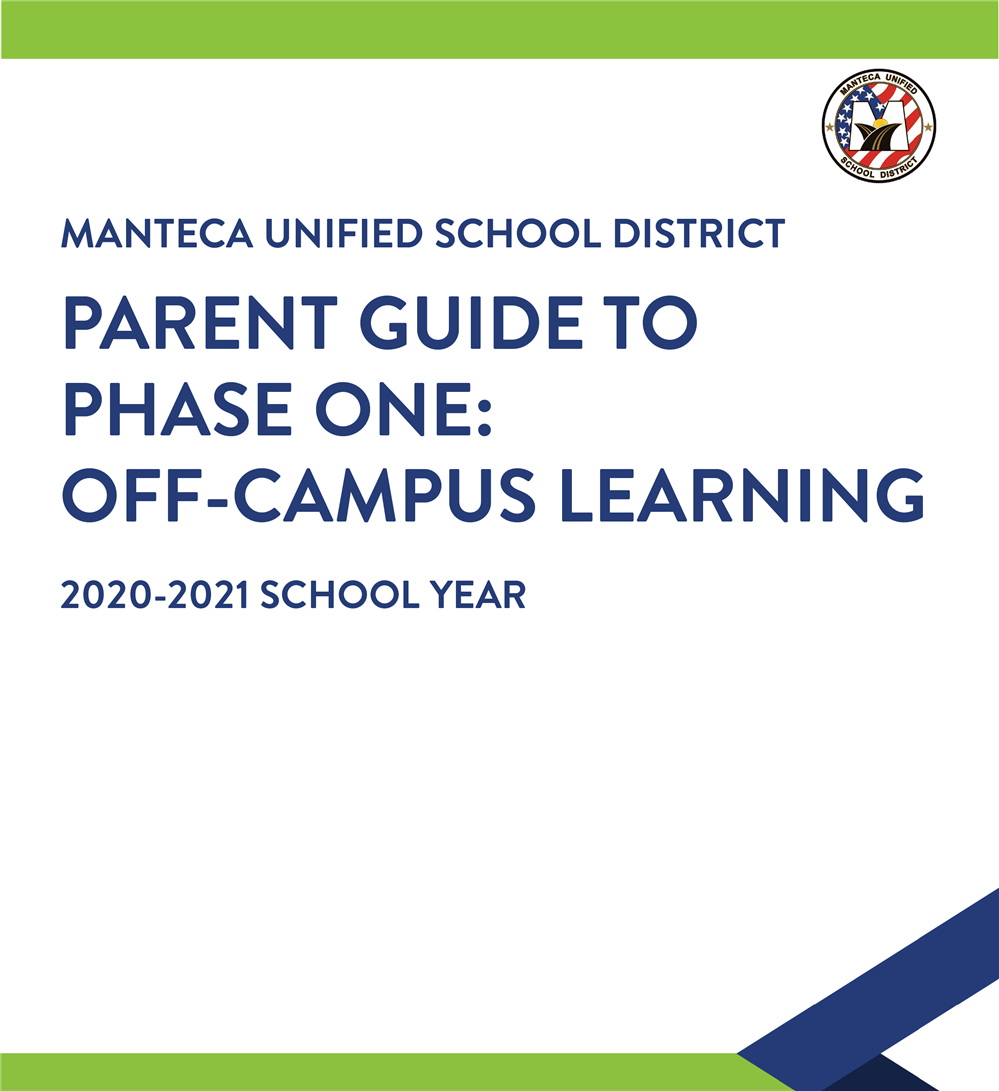 Parent Guide for Phase One: Off-Campus Learning
