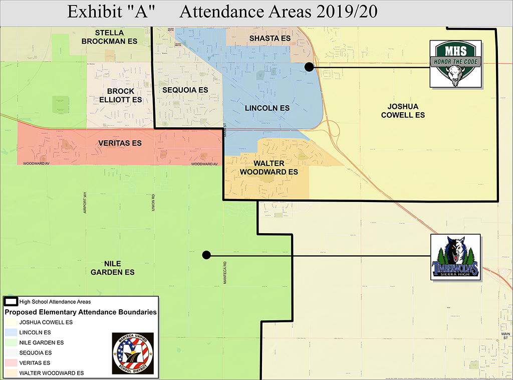 Attendance Areas for 19-20