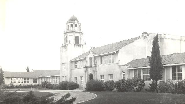 Manteca High School in 1921